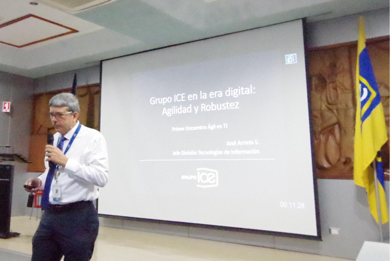 José Arrieta, Director de la División de Tecnologías de la Información