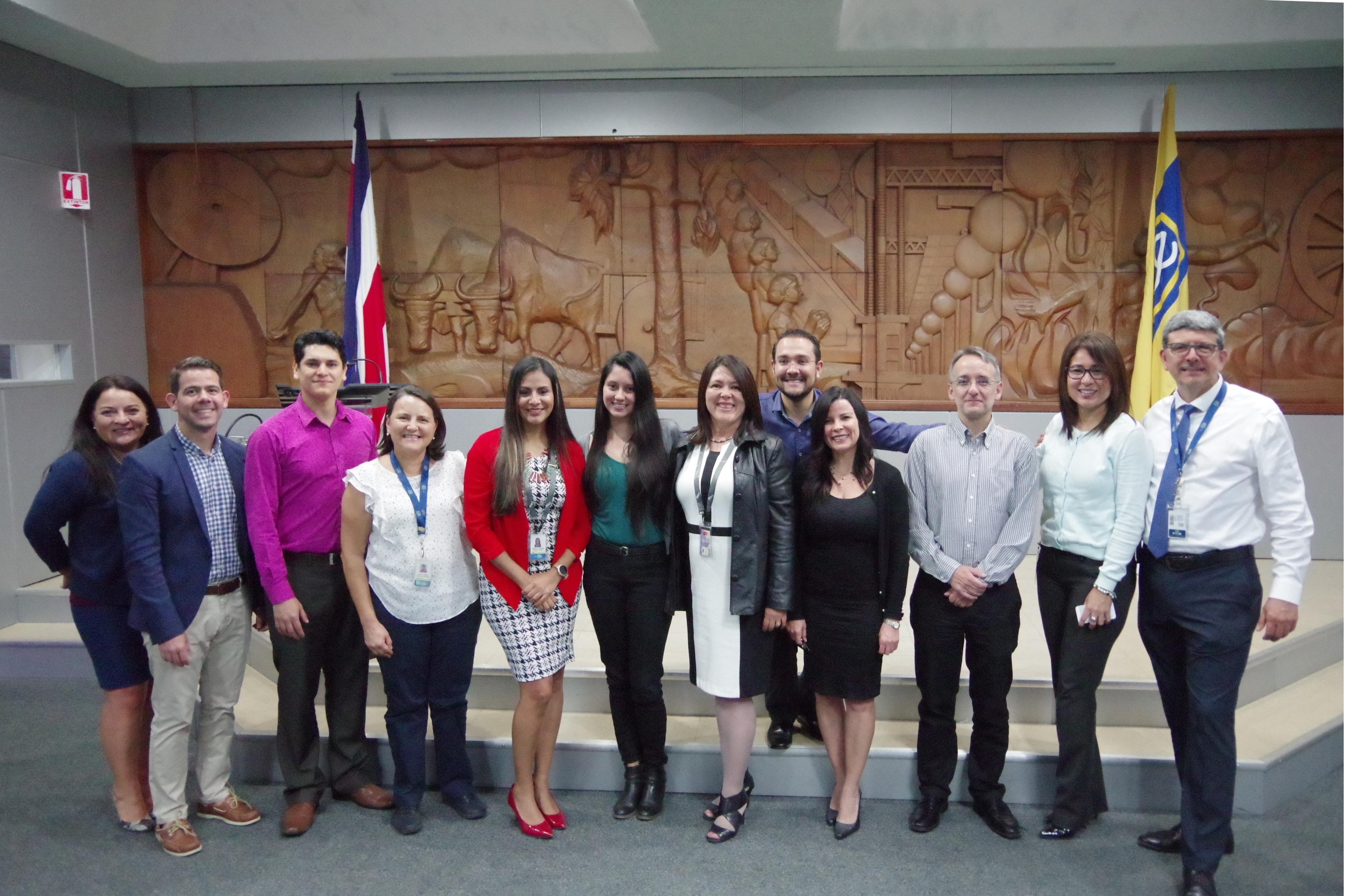 Equipo Coordinar del Primer Encuentro Ágil en TI del Grupo ICE.