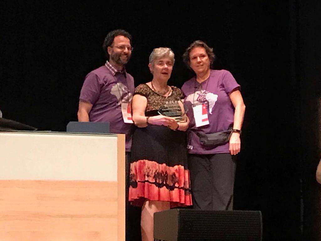 Entrega del Premio al Mérito Latinoamericano de CLEI 2018